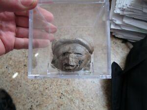 Pre-Columbian  Terracotta Effigy Head 200-600 A.D.