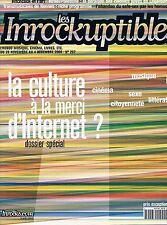 Les Inrockuptibles   N°267  -  28 Novembre Au 4 Decembre 2000 - la culture a la