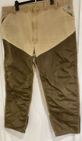 Vintage Carhartt Distressed Mens Work Trousers Tan/brown W44inch/L30inch👍