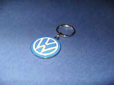 Volkswagen Metall Schlüsselanhänger VW Logo Blau Weiss 000087010C