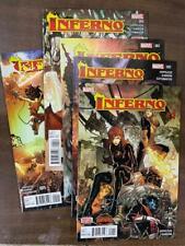 INFERNO #1-5, (2015) MARVEL Comics (CC2) Secret Wars X-MEN