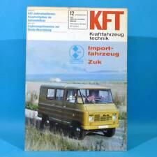 DDR KfT Kraftfahrzeugtechnik 12 1978 Zuk Citroen Visa Mercedes T-Reihe Mustan 59