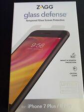 ZAGG invisibleSHIELD Glass Defense iPhone 8 Plus 7 Plus 6s Plus 6 Plus Clear