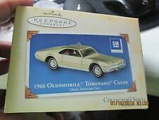 Hallmark Keepsake Ornament - 1966 Olds Toronado Coupe   2004 Collector's Series