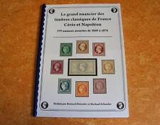 Le grand nuancier des classiques de France Cérès et Napoléon (en promo)
