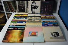 CLASSIC ROCK LOT #05 48 LPs BOB DYLAN JIMI HENDRIX BEATLES QUEEN PRINCE VAN HALE