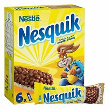 Nestle Nesquik Cereal Bars, 150 gm (6 x 25 gm) Free shipping world