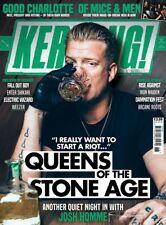 Kerrang! Magazine 15th November 2017 Josh Homme Queens of the Stone Age QOTSA