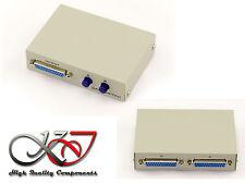 Boitier de Partage PARALLELE DB25  Switch  2 ports
