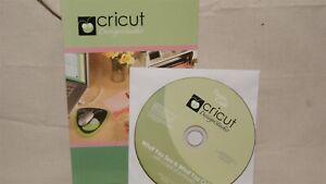 Cricut - DESIGN STUDIO - Manual & CD ONLY!
