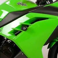 R&G Aero Crash Protectors, Kawasaki Ninja 300 / 250 2013-2017 / Z250 *BLACK*