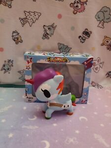 Tokidoki Unicorno Pixie Series 3 Rainbow Cloud Blue Unicorn Vinyl Figure 5 inch