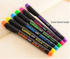 6x Baoke fluorescence Highlighters Marker pen Business Office Highlight Newest