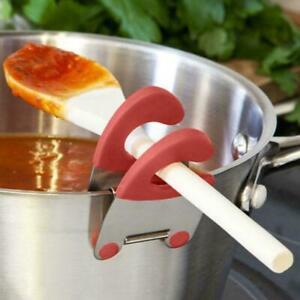 Löffelablage Kochlöffelablage Topf Clip Löffelhalter Kellenhalter Küche