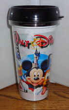 MICKEY MOUSE GANG TRAVEL MUG. 16 oz. SNAP ON TOP. TUMBLER MUG. DISNEYLAND