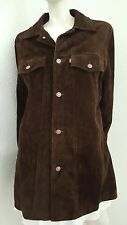 Sample Levis Strauss co Brown Suede Trucker Jacket Made in Argentina Coat
