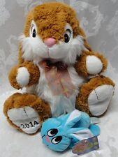 DanDee Collectors Choice Large Bunny & Blue Bunny Homerbest Boing Noise Talks Ha