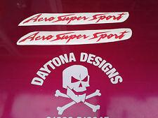 AERO SUPER SPORT YZF THUNDERCAT RED CUSTOM DECALS STICKERS