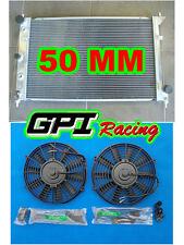 50MM Aluminum Radiator for Ford Falcon BA BF V8 Fairmont XR8 & XR6 Turbo & FANS