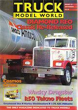 Truck Model World 9/92 AMT-ERTL Tekno Scania dragster Cosmos Crane Volvo Bowker
