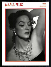 Star Portrait carta-MARIA FELIX + G 8080