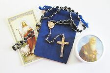 Wonderful St. Benedict Rosary in 2 Piece Case