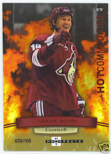 07-08 Fleer Hot Prospects Red #153 Shane Doan #/100