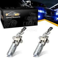 2x Ultra Blue H3 LED Bulbs Replacement for Fog Lights Driving Lamps