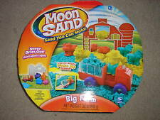 New Spin Master Moon Sand Big Farm with Tractor Playmat Barn