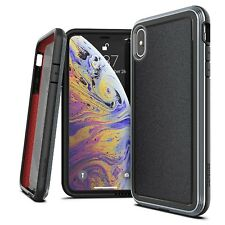 X-Doria Defense Ultra Extremschutz Case Aluminium For IPHONE XS Max Black