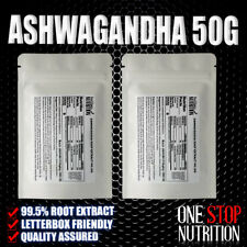 Ashwagandha Root Extract 50g / High Strength Extract / Not Ground Root Powder