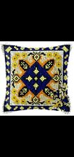 New listing Latch Hook Pillow Kit - 15.7 X 15.7 Inches - Geometric Design #2