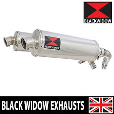 ST1100 ST 1100 Pan European Exhaust Stainless Silencers Mufflers Oval 400SS