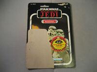 Vintage Star Wars ROTJ 1983 Card Back Stormtrooper 77 Cardback