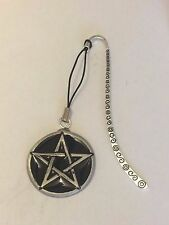 BLACK PENTAGON DR60 Made From Fine English Pewter On A PATTERN Bookmark