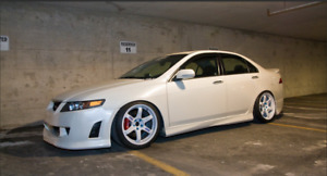 Side Skirts Mugen Style for Honda Accord 7 VII / Acura TSX CL 2003-2008