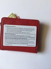 Fossil RFID Mini Wallet ~ Red Confetti Ready ~ NWT