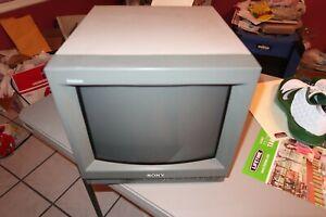 "Sony Trinitron PVM-14N5U 14"" CRT Color Retro Video Gaming Monitor"