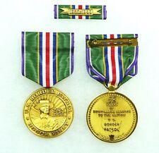 Us Agency, Department. Border Patrol 75th Anniversary Medal, set