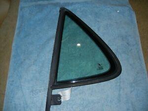SAAB 9-5 Wagon Left Rear Door 1/4 Window 5186390