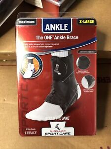 1 New Mueller The One Ankle Brace Black Maximum Support Sport - Size Extra Large