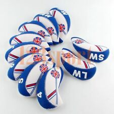 10PCS New Golf Iron Headcovers Covers for Callaway Taylormade M2 SLDR Cobra Ping