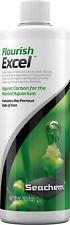 New listing Seachem Flourish Excel 500ml Planted Aquariums Organic Carbon Ferrous State Iron