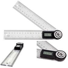 """7"""" Elektronische Digitale Stahl Winkelmesser Goniometer Finder Gehrungsanschlag"""