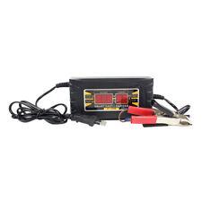 Cargador de batería plomo-ácido 12V 6A para la UE de la motocicleta coche