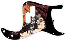P Bass Precision Pickguard Custom Fender 13 Hole Guitar Pick Guard Miss Chief