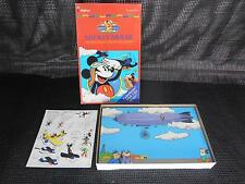 Old Disney Colorforms No. 758 Mickey Mouse In The Mail Pilot Platset Complete