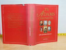 The Adams Chronicles by Jack Shephard (1975, Hardcover) 1st Edition