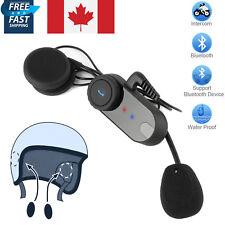 BT Interphone Motorcycle Intercom Bluetooth Stereo Headset Sport Helmet Speaker