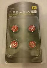 Honda Tyre Valve Dust Air Cap Alloys Wheel Chrome Caps Set of 4 HOSS